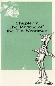 Tin Woodsman by W. W. Denslow From the Wizard of OZ