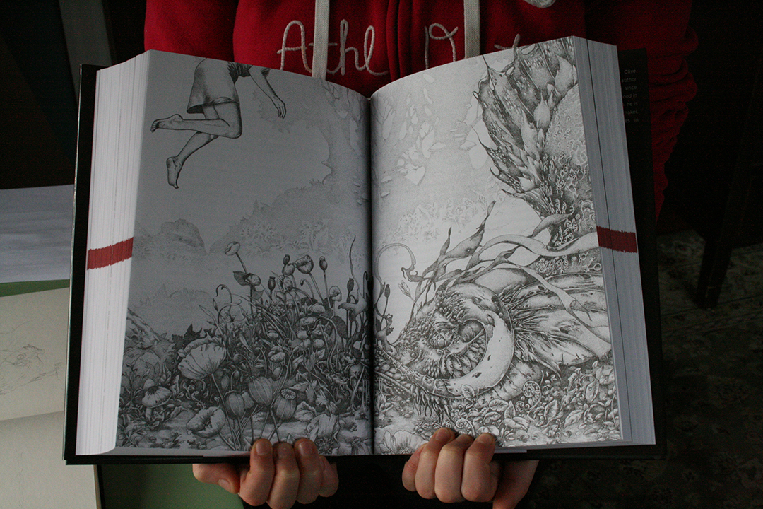 Weaveworld 25th Anniversary Edition Signed by Author and Illustrator