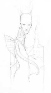 Sea Nymph Sketch