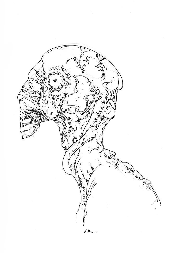 Line Drawing Book : Line drawings richard a kirk