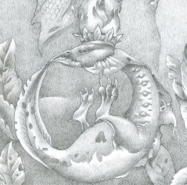 "Detail from ""Flowers of Wisdom"""